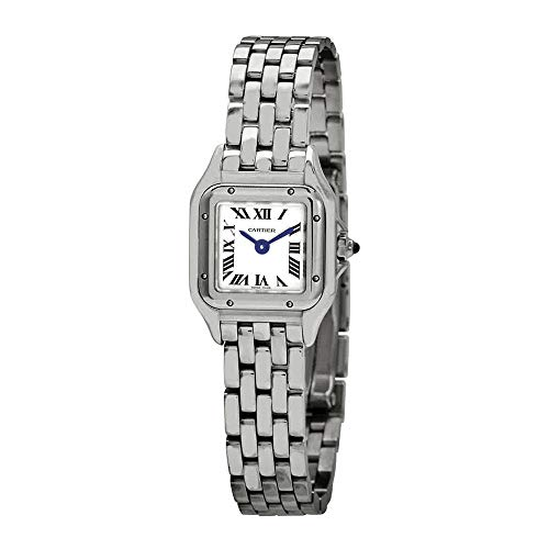 Cartier Panthere Mini Silver Dial Ladies Watch