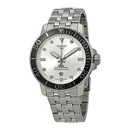 Tissot Seastar Automatic Silver Dial Mens Watch