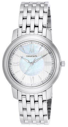Tiffany & Co. Watch Mark Silver / White Pearl Dial