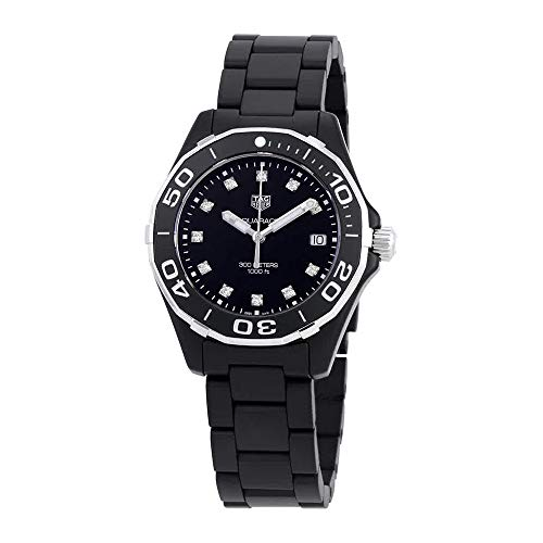 TAG Heuer Aquaracer Matte Black Ceramic 35mm Watch