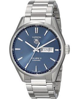 TAG Heuer Men's Carrera Analog Display Swiss Automatic Silver Watch