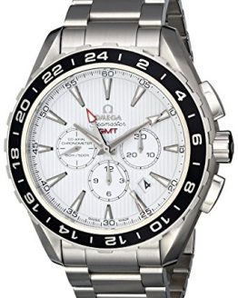 Omega Men's Seamaster Aqua Terrra Stainless Steel Watch