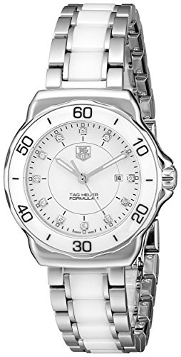 Tag Heuer Women's Formula 1 Stainless Steel Sport Watch with Diamonds