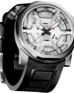 SISU Bravado A8 Swiss Automatic Men's Watch, Cage Dial