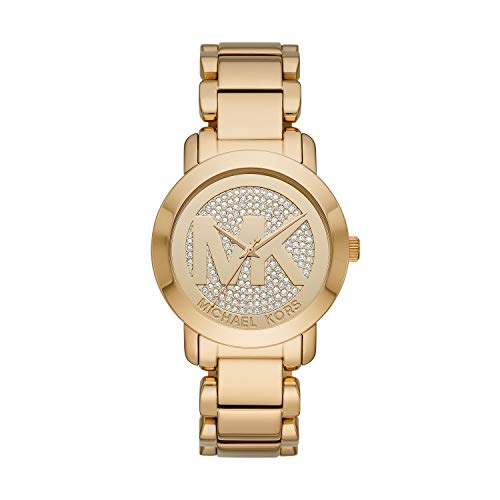 Michael Kors Women's Tiffany Rose Gold Tone Stainless Steel Watch