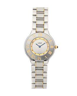 Cartier Must 21 Quartz (Battery) Silver Dial Womens Watch