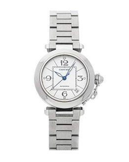 Cartier Pasha Mechanical (Automatic) White Dial Mens Watch
