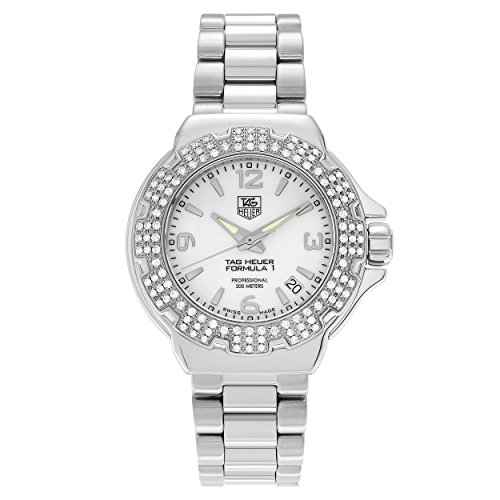 Tag Heuer Womens 'Formula 1' Diamond Bezel Bracelet Watch