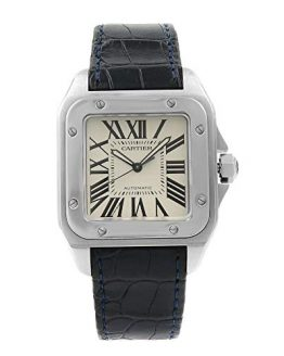 Cartier Santos 100 Automatic-self-Wind Male Watch