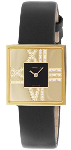 Tiffany & Co. Wristwatch Atlascocktailsquarelady Diamond Case