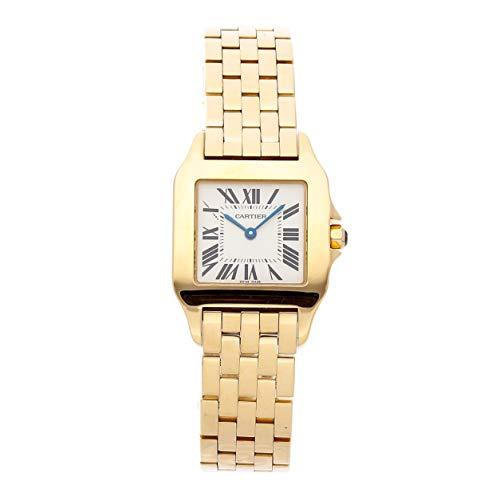 Cartier Santos Quartz (Battery) Silver Dial Womens Watch