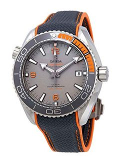 Omega Seamaster Automatic Grey Dial Mens Watch