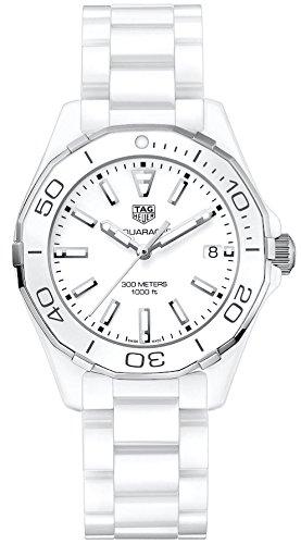 Tag Heuer Aquaracer Lady 300M 35mm White Ceramic Watch