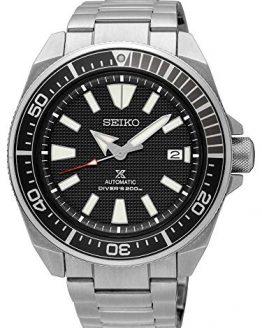 "SEIKO PROSPEX Diver's 200M ""Samurai"" Black Dial"