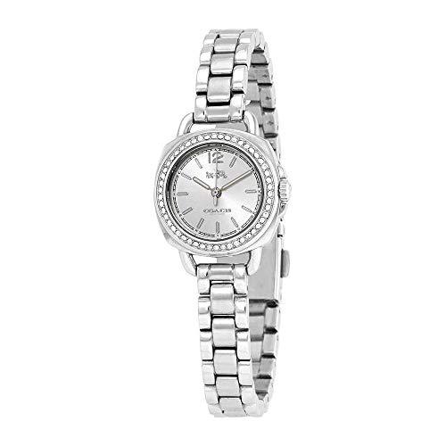 COACH Women's Tatum 23mm Bracelet with Swarovski Crystal Stainless Steel