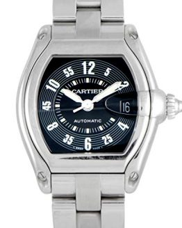 Cartier Men's Roadster Stainless Steel Automatic Watch
