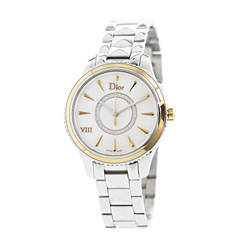 Dior Women's Montaigne Silver Stainless-Steel Quartz Dress Watch