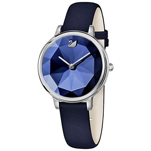 SWAROVSKI Crystal Authentic Crystal Lake Watch, Leather Strap