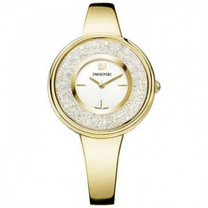 Ladies' Swarovski Crystalline Pure Gold Tone Watch