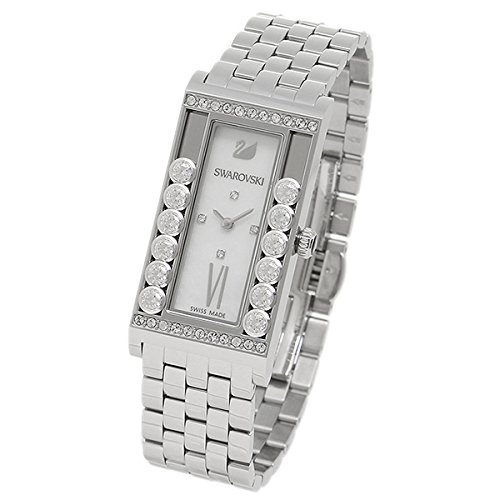 Swarovski Lovely Crystal Square Stainless Steel Watch