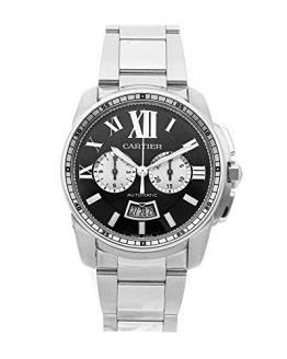 Cartier Calibre de Cartier Mechanical (Automatic) Black Dial Mens Watch