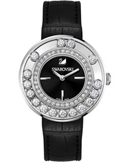 Swarovski Lovely Crystals Black Ladies Watch