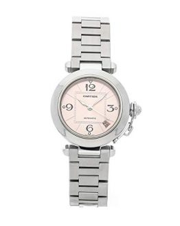 Cartier Pasha Mechanical (Automatic) Pink Dial Womens Watch