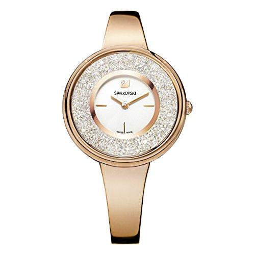 Ladies' Swarovski Crystalline Pure Rose Gold Tone Watch