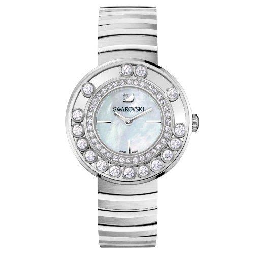 Swarovski Lovely Crystals - White Metal Ladies Watch