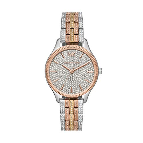 Michael Kors Women's Lexington Quartz Watch with Stainless Steel Strap