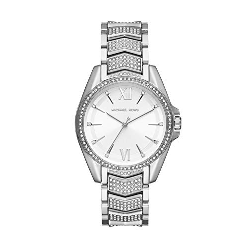 Michael Kors Women's Whitney Quartz Watch with Stainless Steel Strap