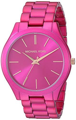 Michael Kors Women's Slim Runway Quartz Watch with Stainless Steel Strap