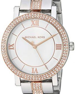 Michael Kors Women's Norie Quartz Watch with Stainless Steel Strap