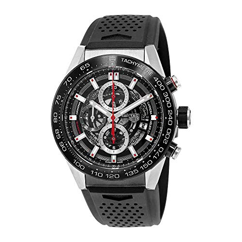 Tag Heuer Carrera Calibre Heuer 01 Automatic Skeleton Dial Mens Watch