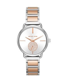 Michael Kors Women's Portia Quartz Watch with Stainless Steel Strap