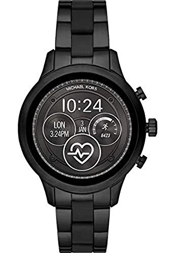 Michael Kors Black Steel 316 L Woman Watch