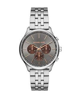 Michael Kors Men's Sutter Quartz Watch with Stainless Steel Strap