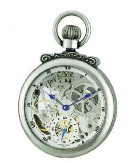 Charles-Hubert, Paris Classic Collection Antiqued Finish Open Face Mechanical