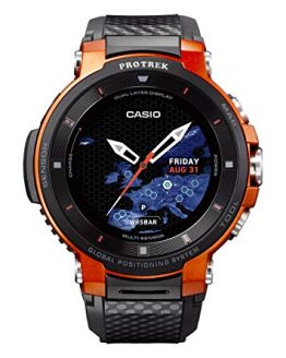 CASIO Pro Trek Touchscreen Outdoor Smart Watch Resin Strap