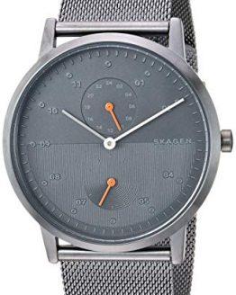 Skagen Men's Kristoffer Quartz Stainless Steel Mesh Watch Color