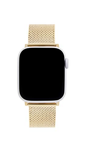 Rebecca Minkoff Gold Tone Stainless Steel Watch Strap