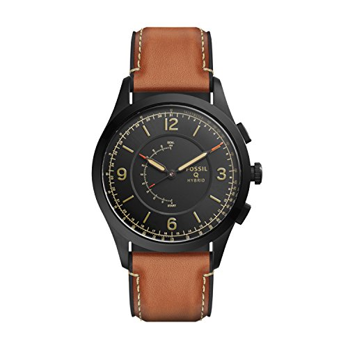 Fossil Hybrid Smartwatch - Q Activist Luggage Leather