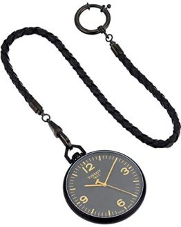 Tissot Unisex Lepine Swiss Quartz Alluminum Pocket Watch