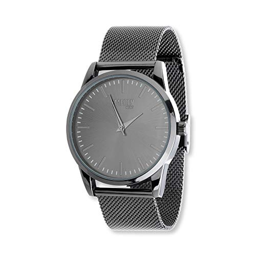 Steve Madden Men's Stainless Steel Japanese-Quartz Watch with Alloy Strap