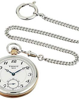 Tissot Unisex Bridgeport Lepine Mechanical Stainless Steel Pocket Watch