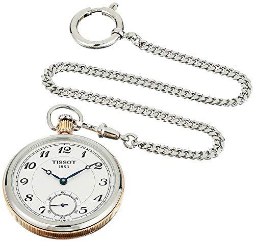 Tissot Unisex Bridgeport Lepine Mechanical Stainless Steel Pocket Watch