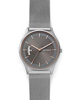 Skagen Men's Holst Quartz Stainless Steel Mesh Casual Watch