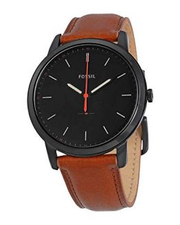 Fossil Men's The Minimalist Quartz Stainless Steel and Leather Casual Watch