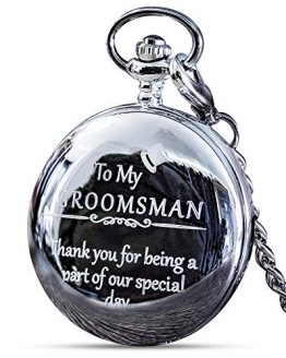 Groomsmen Gifts for Wedding or Proposal - Engraved 'to My Groomsman' Pocket