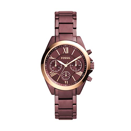 Fossil Women's Modern Courier Quartz Stainless Steel Chronograph Watch